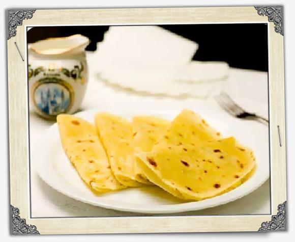 Кыстыбый из конопляной муки - Татарские блюда