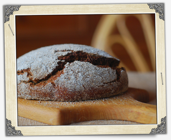 как сделать чтоб хлеб ржаной был темным